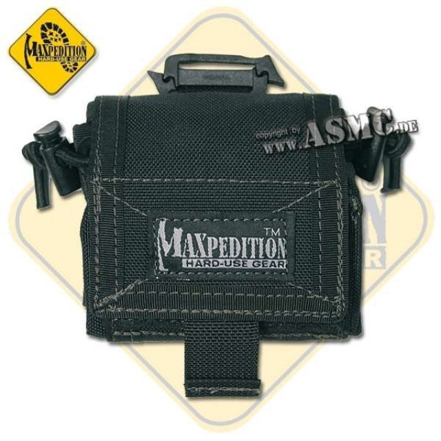 Maxpedition Rollypoly black The Rollypoly is a folding dump pouch designed to hold...