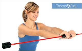 Training mit Schwungstäben oder Swinsticks für Prävention und Rehabilitation
