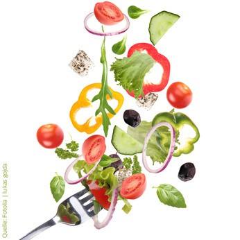 Gemüse ist gesund.