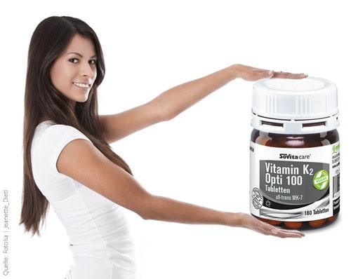 Vitamin K2 Opti 100 Tabletten