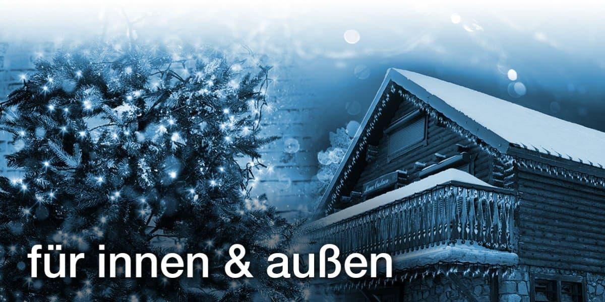 Günstige Weihnachtsbeleuchtung Aussen.Lichterketten Für Innen Und Außen Günstig Kaufen